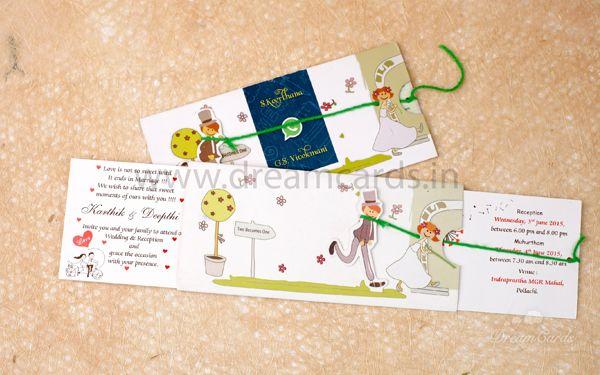 Boy Girl Double Slider Card