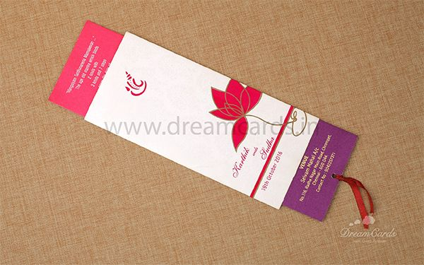 Double Slider Wedding Invitation