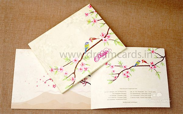 jasmine Cherry Blossom Invitation