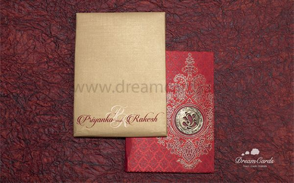 Paisley Art Wedding Invitation