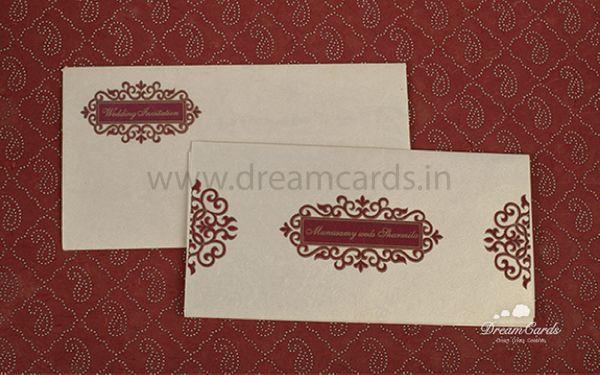 Pearl Floral Wedding card