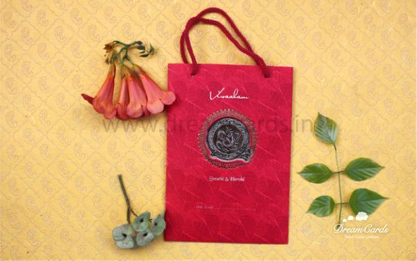 Royal Red Bag Style Card