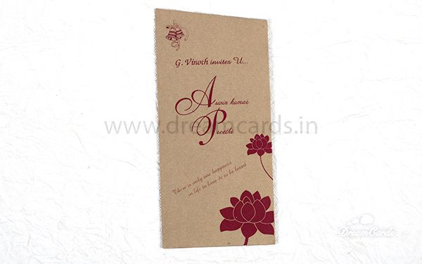 Single pouch card