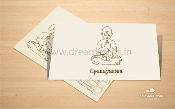 Upanayanam Invitation