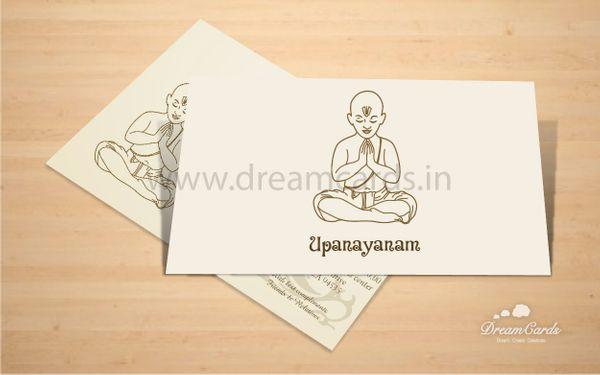 Upanayanam Cards